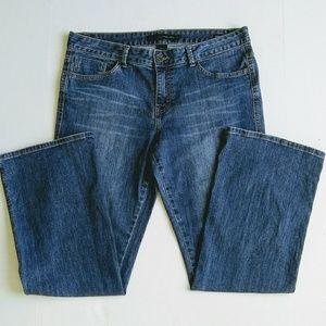 Calvin Klein Ultimate Bootcut medium wash jeans
